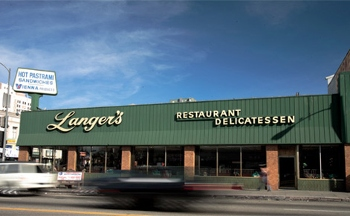 Langer's Delicatessen-Restaurant - Los Angeles, CA
