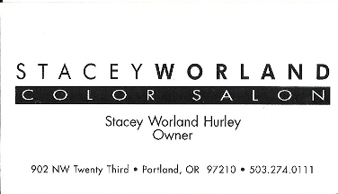 Stacey Worland Color Salon - Portland, OR