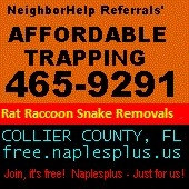 Affordable Trapping - Naples, FL