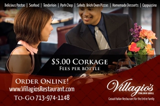 Villagio's Italian Grill - Houston, TX