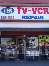 Tek Tv & Vcr Repair - Huntington Beach, CA