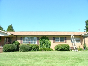 Bye Bye Roof Stains - Lincolnton, NC
