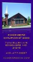 Edgemere Church Of God - Sparrows Point, MD