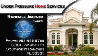 Under Pressure Home Svc - Fort Lauderdale, FL