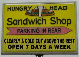Hungry Head Sandwich Shop - Kenosha, WI