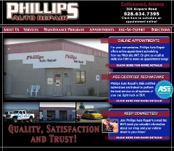 Phillips Auto Repair - Cottonwood, AZ