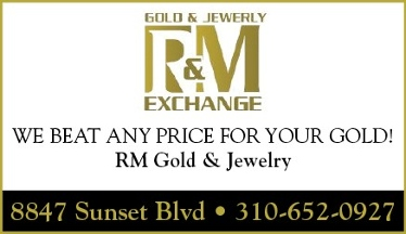 R m gold and jewelry exchange west hollywood ca for Sunset pawn and jewelry