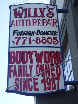 Willy's Auto Repair Shop - San Francisco, CA