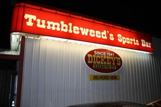Tumbleweed's Sports Bar Incorporated - Fort Worth, TX