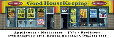 Good Housekeeping Appliances - Natrona Heights, PA