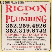 Rigdon Plumbing - Homestead Business Directory