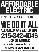 Affordable Electric Inc. - Philadelphia, PA