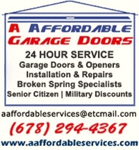 A Affordable Garage Door Services - Holly Springs, GA