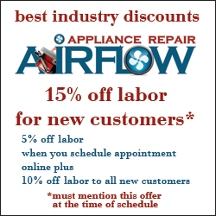Airflow Appliance Repair (same Day Service) - Van Nuys, CA