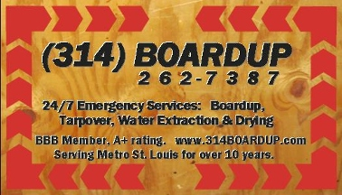 Fire Works Restoration Company/ 314 Boardup - Saint Louis, MO