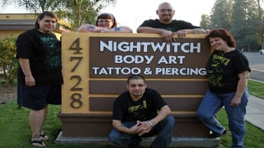 Nightwitch Body Art