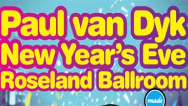 New Years Eve w/ Paul Van Dyk @ Roseland Ballroom
