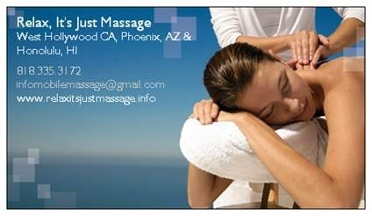 Relax, It's Just Massage!