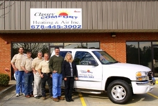 Classey Comfort Heating & Air