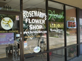 Rosemary's Flower Shop