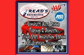 Read's Automotive - Austin, TX