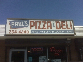 Paul&#039;s Pizza