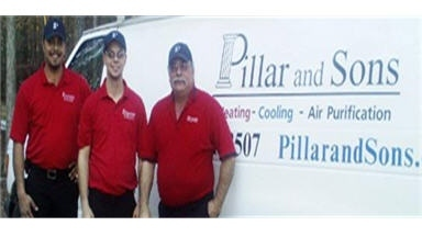 Pillar and Sons Heating and Cooling, LLC.