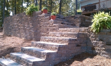 Geostone Retaining Wall Systs - Westover, AL
