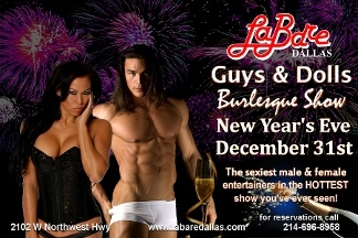 LABARE Bachelorette Parties & Male Review Ladies Club - Dallas, TX