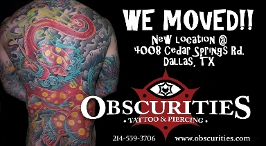 Obscurities Tattoo & Piercing - Homestead Business Directory