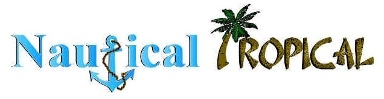 Nautical Tropical Gifts &amp; Decor