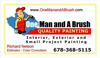 One Man & A Brush