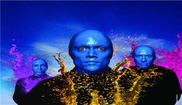 Blue Man Group at The Venetian Hotel - Las Vegas, NV