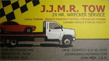 Jjmr Tow - Homestead Business Directory