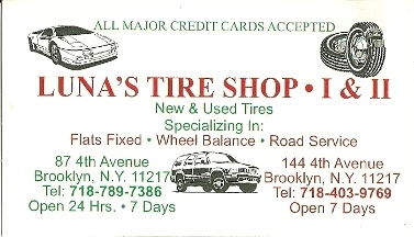 Luna's Tire Shop
