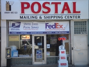 Away We Go Postal