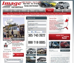 Image Van Rentals - 12 and 15 Passenger Van Rental