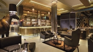 The Gold Lounge At Aria Hotel And Casino City Center