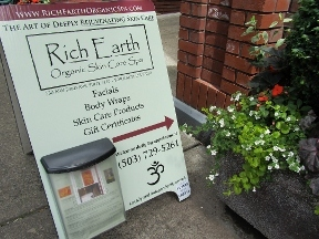 Rich Earth Organic Skin Care Spa
