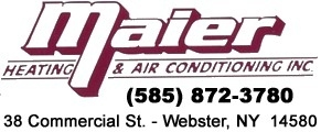 Maier Heating & Air Cond - Webster, NY