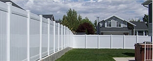 Vinyl Fence Connection