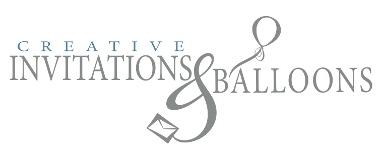 Creative Invitations And Balloons - Las Cruces, NM