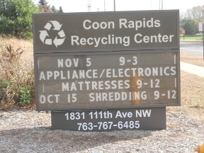 Coon Rapids Recycling Ctr - Minneapolis, MN