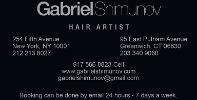 Gabriel Shimunov Hair Salon CT
