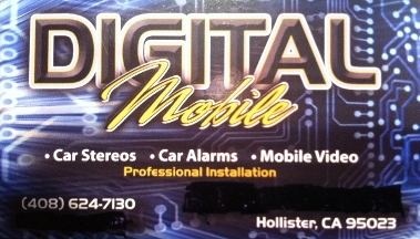 Digital Mobile Car Stereo