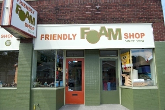 A Friendly Foam Shop
