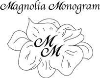 Magnolia Monogram