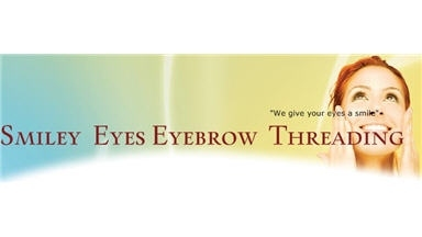 Smiley Eyes Eyebrow Threading