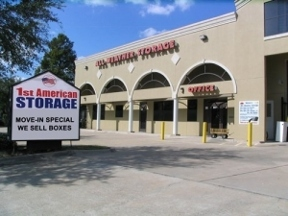 1st American Storage - Houston, TX