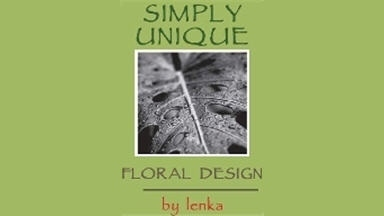 Simply Unique Floral Design By Lenka